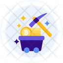 Proof Of Work Bitcoin Mining Mining Icon