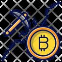 Bitcoin Mining Mining Digital Icon