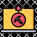 Bug Laptop Miner Icon