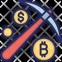 Bitcoin Bitcoin Network Bitcoin Mining Icon