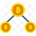 Bitcoin Mining Crypto Mining Cryptocurrency Mining Icon
