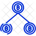 Bitcoin Mining Crypto Mining Cryptocurrency Mining Icon
