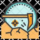 Bitcoin Mining Dig Icon