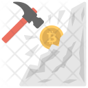 Mining Transaction Process Icon
