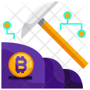 Bitcoin Mining Mining Cryptocurrency Mining Icon