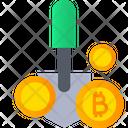 Bitcoin Mining Bitcoin Cryptocurrency Icon