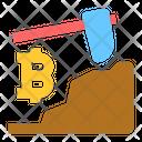 Bitcoin Mining Bitcoin Mining Icon