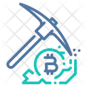 Bitcoin Mining Miner Icon
