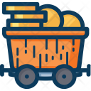 Trolley Blockchain Cryptocurrency Icon