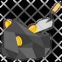 Bitcoin Mining Bitcoin Transaction Bitcoin Payments Icon