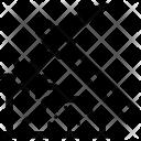Pickaxe Bitcoin Stone Icon