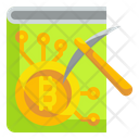 Bitcoin Mining Education Blockchain Education Cryptocurrency Icon
