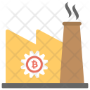 Mining Industry Factory Icon