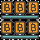 Bitcoin Mining Rig Icon