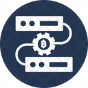 Bitcoin Mining Software Bitcoin Mining Technology Bitcoin Technology Icon