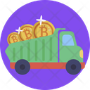 Bitcoin Cryptocurrency Digital Icon
