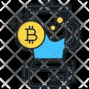 Bitcoin Mixer Icon