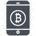 Bitcoin Mobile Icon