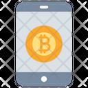 Bitcoin Mobile Icon