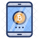 Bitcoin Mobile Payment Icon