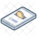 Bitcoin Mobile Wallet Icon