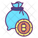 Bitcoin Bag Bitcoin Money Bag Money Bag Icon