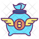 Money Bag Bitcoin Money Bag Bitcoin Icon