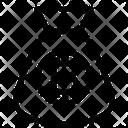Bitcoin Moneybag Icon