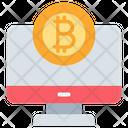 Bitcoin Monitor Icon