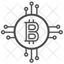Bitcoin Digital Money Crypto Icon