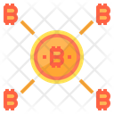 Network Money Bitcoin Cryptocurrency Bitcoin Network Bitcoin Connection Icon