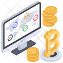 Bitcoin Network Online Business Bitcoin Business Icon