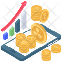Bitcoin Network Bitcoin Analytics Digital Currency Network Icon