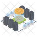 Bitcoin Network Cryptocurrency Digital Currency Icon