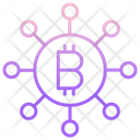 Network Bitcoins Bitcoin Network Bitcoin Connection Icon