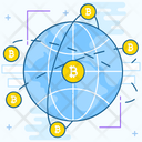 Bitcoin Network Icon