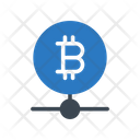 Bitcoin Network Connection Icon