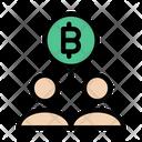 Bitcoin Network Crypto Icon