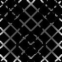 Network Share Blockchain Icon