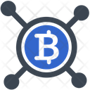 Cryptocurrency Bitcoin Network Icon