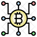 Bitcoin Network Network Cryptocurrency Icon