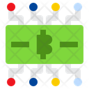 Bitcoin Network Cryptocurrency Bitcoin Connection Icon