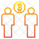 Bitcoin Network People Network People Icon