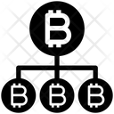 Bitcoin Network Structure Icon