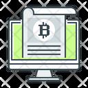 Bitcoin Crypto Crypto News Icon