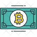 Bitcoin Note Icon