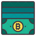 Cash Money Bitcoin Cryptocurrency Bitcoin Notes Bitcoin Money Icon