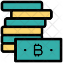 Bitcoin Notes Bitcoin Money Icon