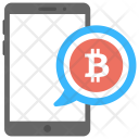 Bitcoin Notification Icon