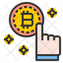 Bitcoin Pay Bitcoin Payment Cash Icon
